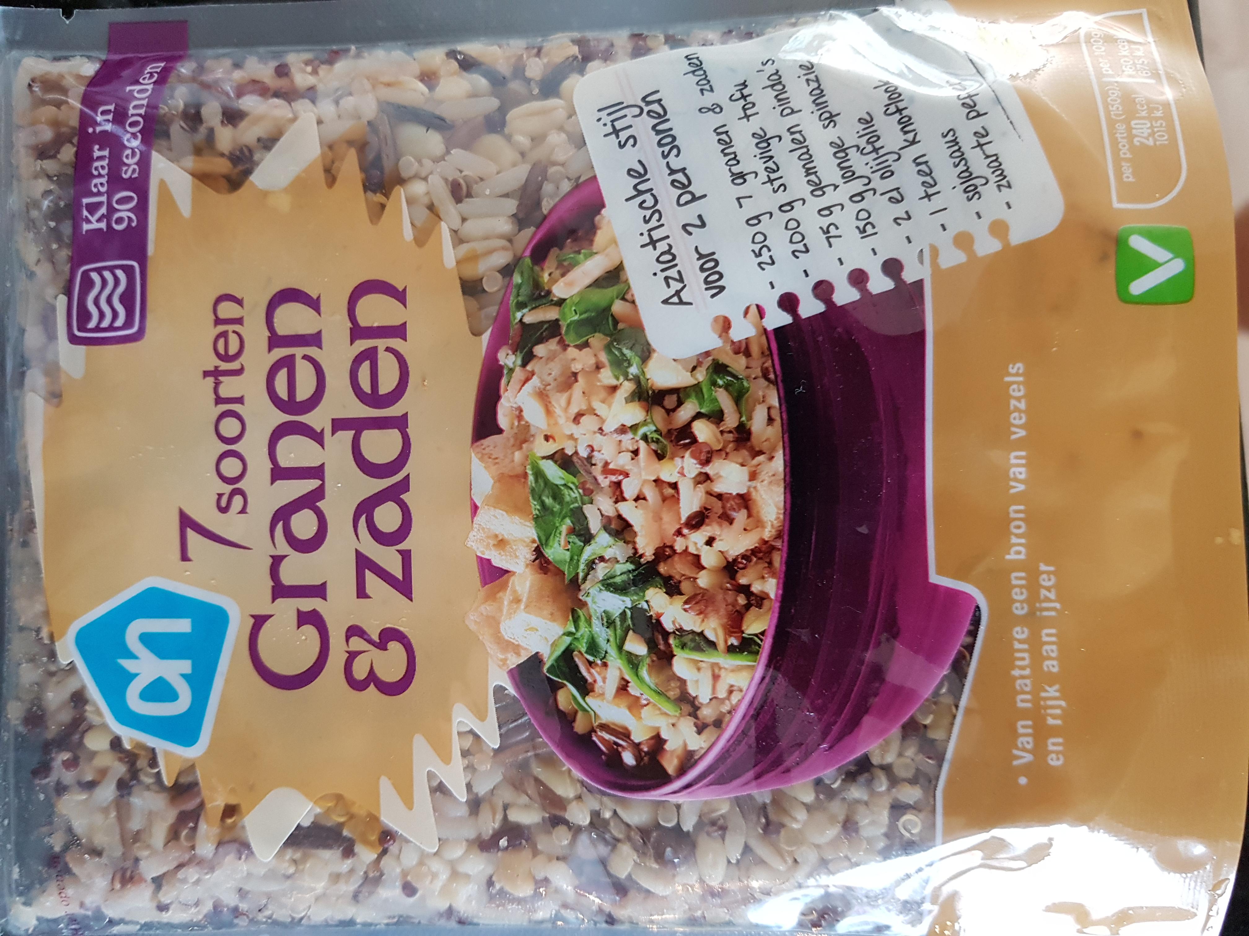 7 soorten granen en zaden eiwitrijke recepten